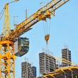 Crane and construction site — Stock Photo #34682313