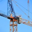 Construction tower crane — Stock Photo