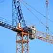 Stock Photo: Construction tower crane