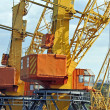 Port cargo crane — Stock Photo #36059681