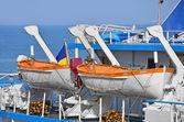 Sicherheit-rettungsboot — Stockfoto