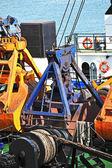 Scoop of cargo crane — Stock Photo