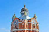 Eastern orthodox cathedral — Stock Photo