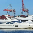 Motor yacht — Stock Photo #40549219