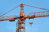 Construction tower crane — Stock Photo