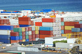 Kargo konteyner liman — Stok fotoğraf