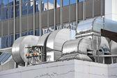 Industriella ventilationssystem — Stockfoto