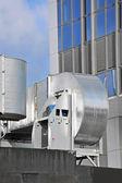 Sistema de ventilación industrial — Foto de Stock