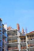 Trabajos de construcción de sitio — Foto de Stock