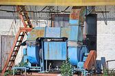 Továrna ventilační systém — Stock fotografie