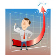 successful businessman — Stock Vector