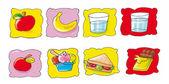 Illustration, digital,, children, dragon,top,icon — Stock Photo