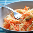 Fresh coleslaw — Stock Photo