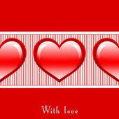 S láskou — Stock fotografie