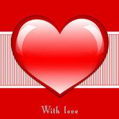 с карты любви — Стоковое фото