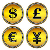 Money signs — Stock Photo