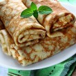 Rolled pancakes — Stock Photo #49853691