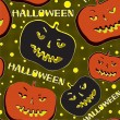 Halloween — Vector de stock #12756183