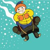 Winter mood — Stock Vector