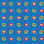 Cheerful heart — Stock Vector #17138175