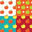 Appel pattern — Vector de stock