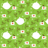 Hora do chá — Vetorial Stock