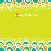 Congratulations! — Stock Vector