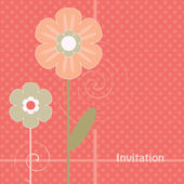 Abstract flowers — Stock Vector