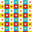 Royalty-Free Stock Vector Image: Colored Hearts