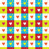 Colored Hearts — Stockvector