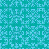 Snowflake pattern. Retro design. — Vettoriale Stock