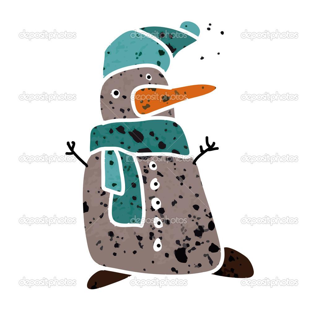 snowman icon. — 图库矢量图片 #33949189