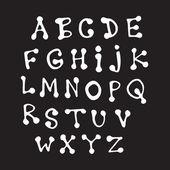 Latin alphabet — Stock Vector