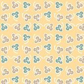Textura sem costura com folhas — Vetorial Stock