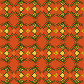 Ethnic pattern. — Stock vektor