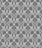 Seamless wallpaper pattern, ornament, vector — Stock Vector