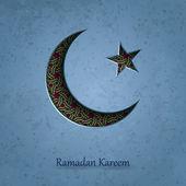 Ramadan Kareem background, Arabic ornament, Islamic pattern background, vector — Stock Vector