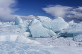 Přeražený led — Stock fotografie