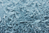 Ice texture from fresh water — Foto Stock