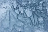 Texture of the burst ice — Стоковое фото