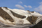 Glaciar de aktra en altai — Foto de Stock