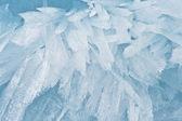Baykal gölü buz yapısında iyi arka plan — Stok fotoğraf