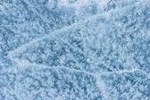新鮮な水から氷のテクスチャ — ストック写真
