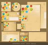 Selected Corporate Templates — Stock Photo