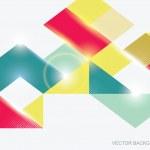 Geometric Background — Stock Vector