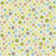 Retro circle pattern background - Image vectorielle