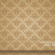 Seamless wallpaper pattern - Vettoriali Stock
