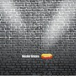 Background of brick wall texture - Stock Vector