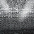 Background of brick wall texture — Stockvectorbeeld