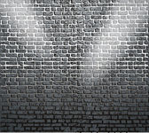 Background of brick wall texture — Stock Vector